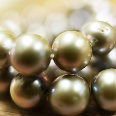 Pearl Strand Close-up