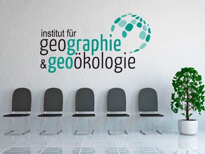Logo des Instituts für Geographie und Geoölologie am KIT | Design KERNgeschäft