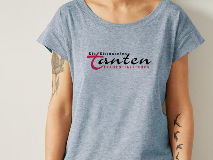 Logo für den Frankfurter Frauenchor Die Dissonanten Tanten | Design KERNgeschäft