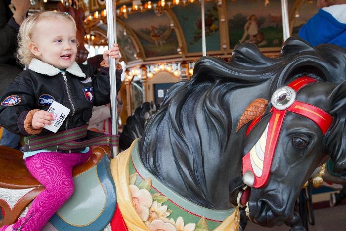 #Little Muenster + #Jane's Carousel: #kid-friendly #DUMBO, New York