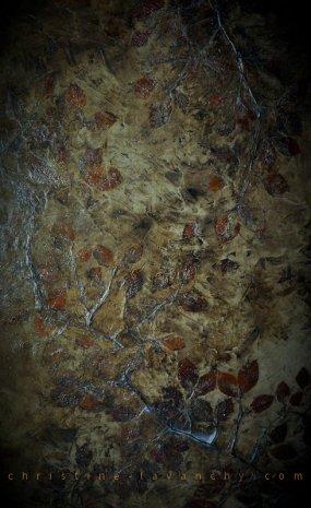 mixte sur bois, 140 x 86 cm, 2011