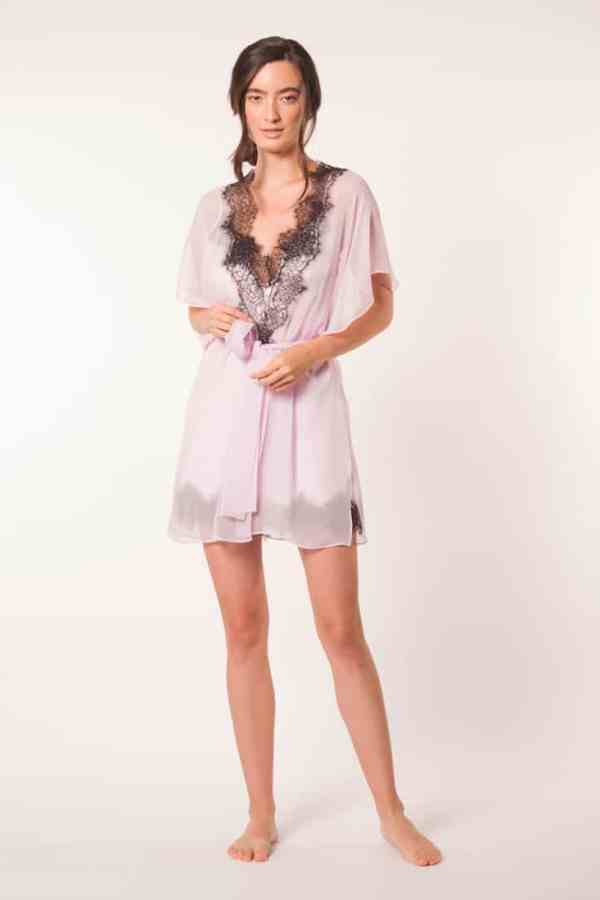 Sweet Dreams Chiffon Short Robe