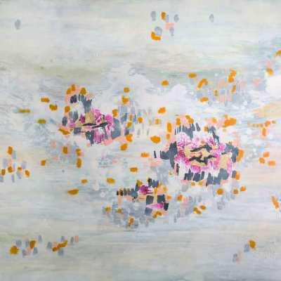 """The Golden Garden, 48""""x60"""""""