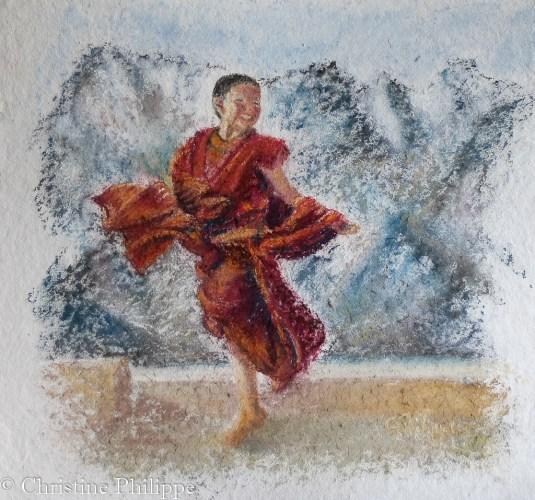 Petit moine - Ladakh
