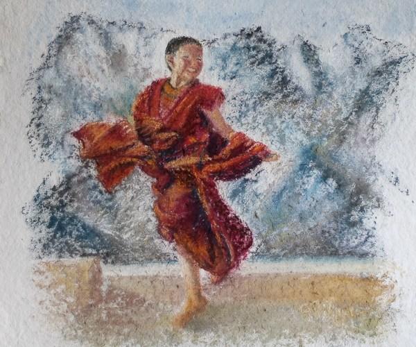 Petit moine – Ladakh