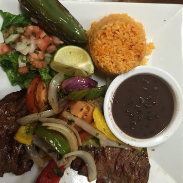 Steak at Mexican Grill Poolesville
