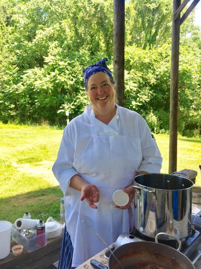 Michelin-starred chef Larkin Rogers