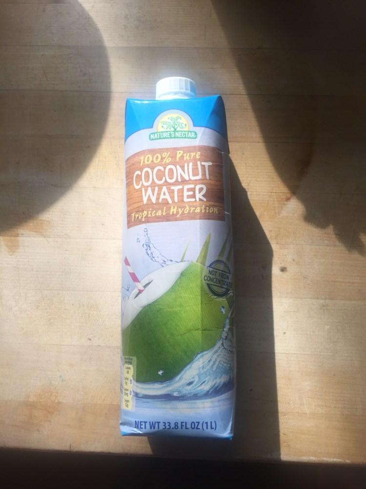 Aldi coconut water