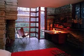 Fallingwater bedroom