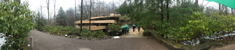 Fallingwater tour group