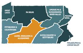 Laurel Highlands map