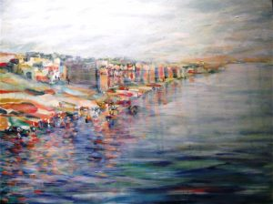 Fragments of Memory: Varanasi at Dawn $1650