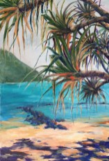 Tallebudgera Creek 2 Commission acrylic on linen 91 x 61 cm