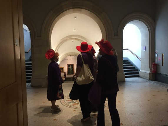 The Red Hat Society of London!