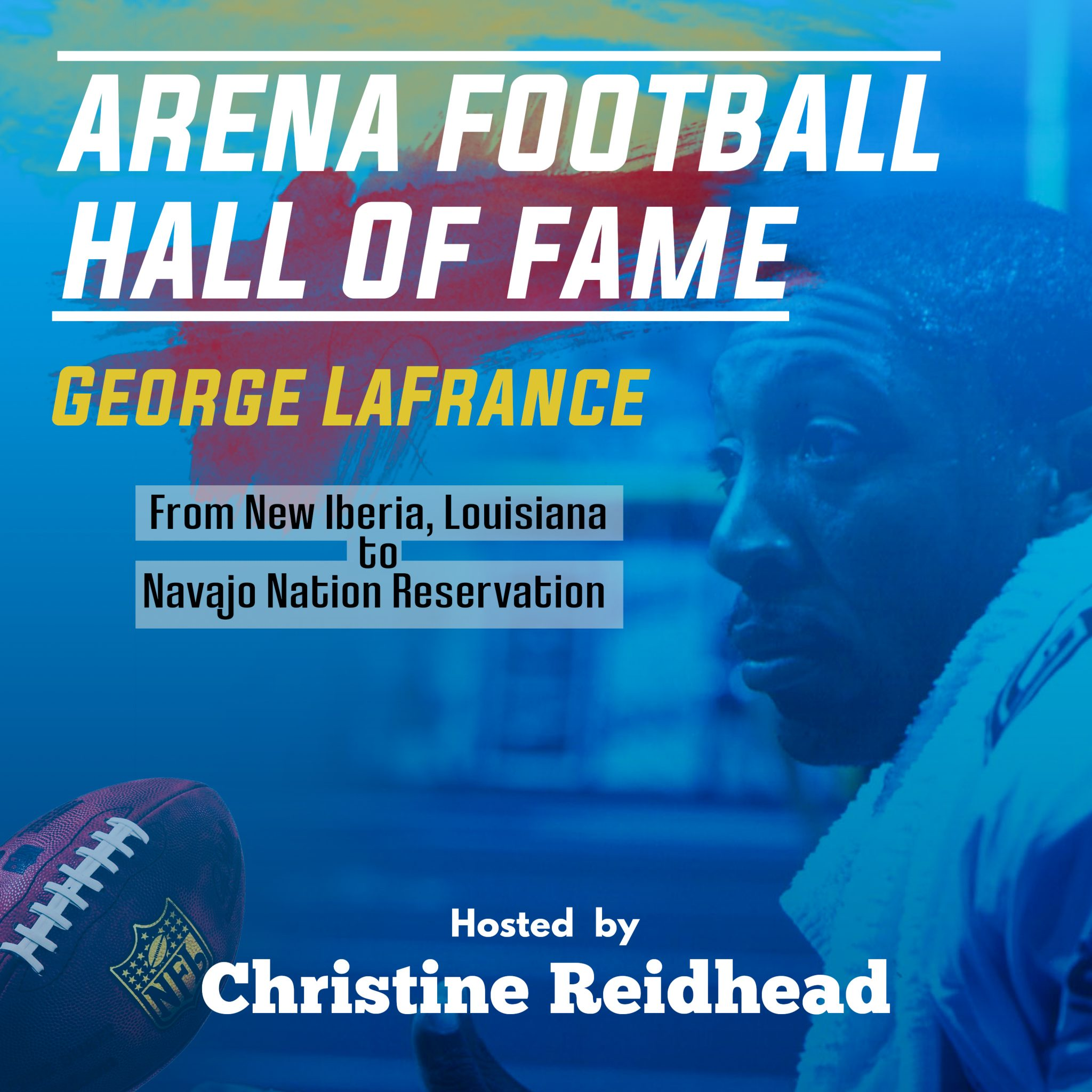 Arena Football Hall of Fame George LaFrance