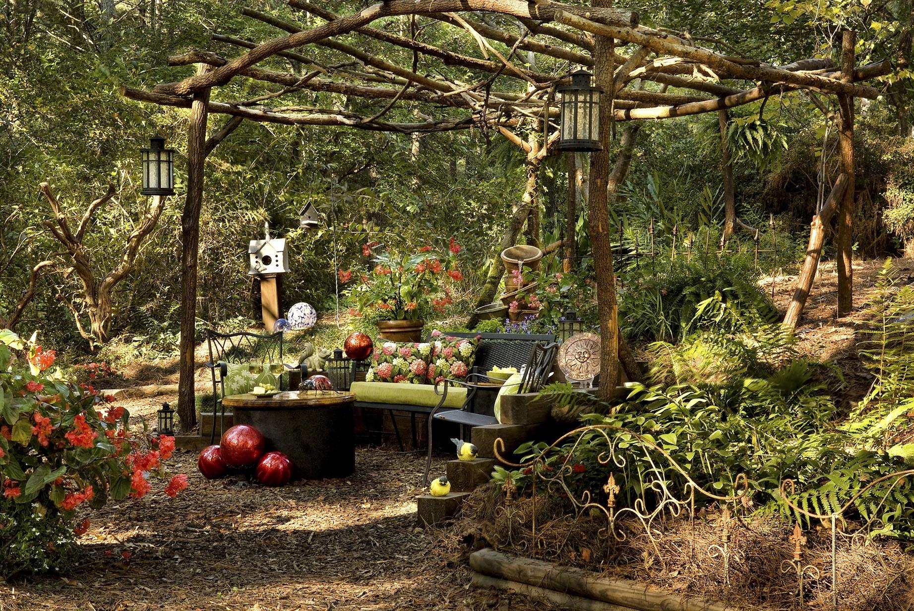 Backyard Transformation: From Wild Woods to Garden Dream ... on Dream Backyard Ideas id=61087