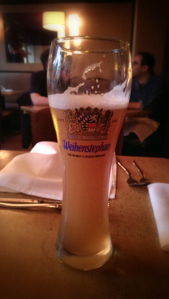 Schneider Edel-Weiss Organic Hefeweizen  (crisp mountain herbs, lemon, banana notes, 16.9 oz, 6.7% abv )