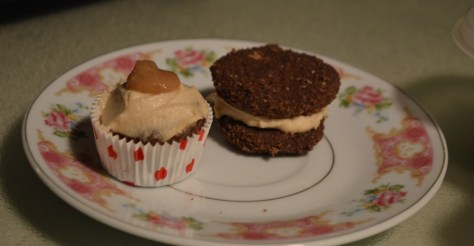 Mini Cupcake and Whoopie Pie