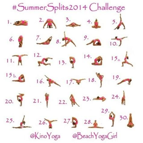 Yoga in June