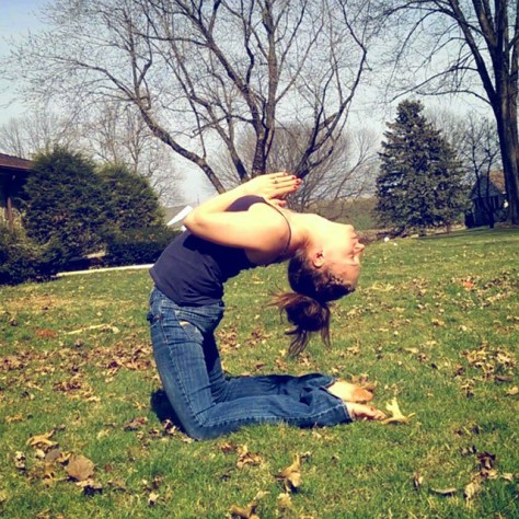 Day 13 : Camel Pose, Ustrasana