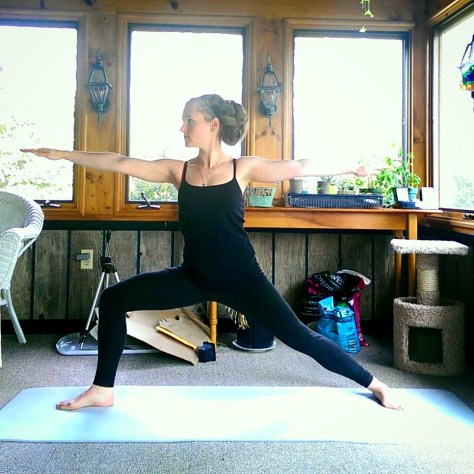 Day 6: Virabhadrasana B, Warrior II
