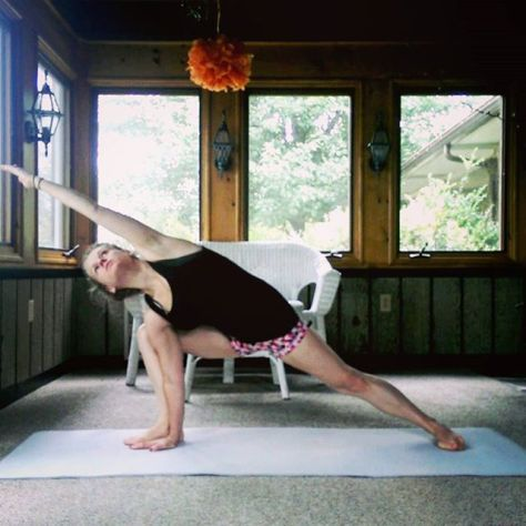Day 3: Parsvakonasana A, Extended Side Angle Pose