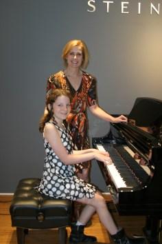 Maisie & Christine at Steinway & Sons Recital