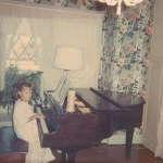 Christine Plays Piano