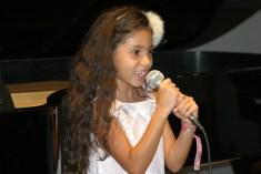 Jade sings at Steinway & Sons Recital