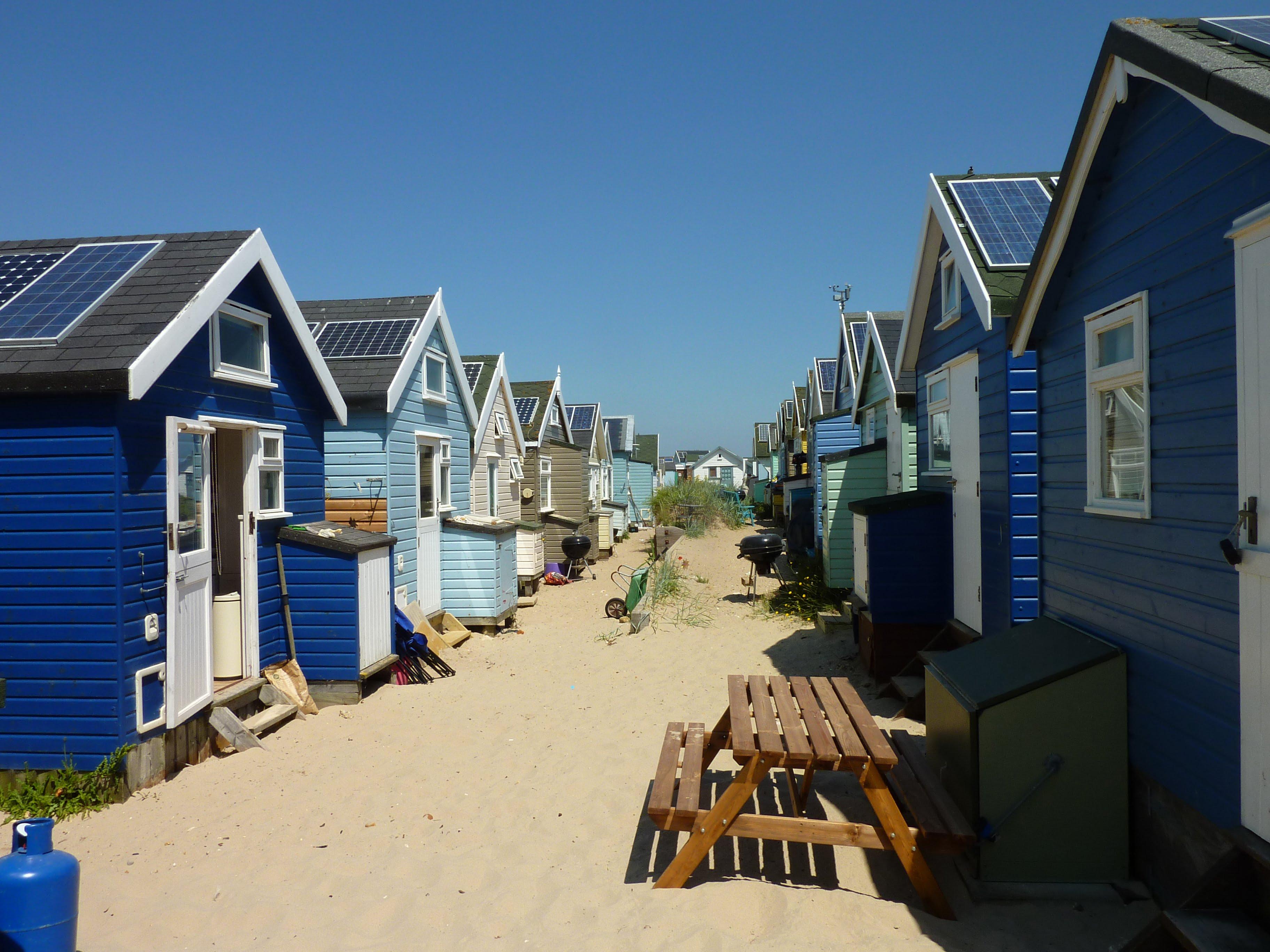 Beach Hut Doors