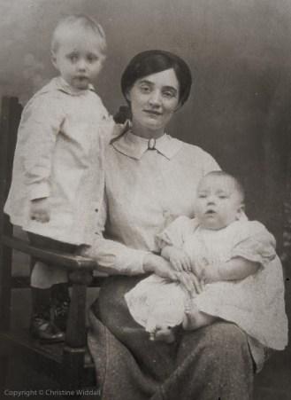 Grandma Sheard, Dewsbury, 1916