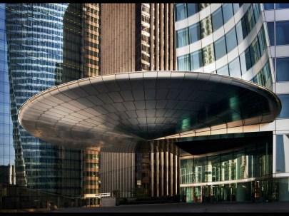 Entrance EDF Tower La defense