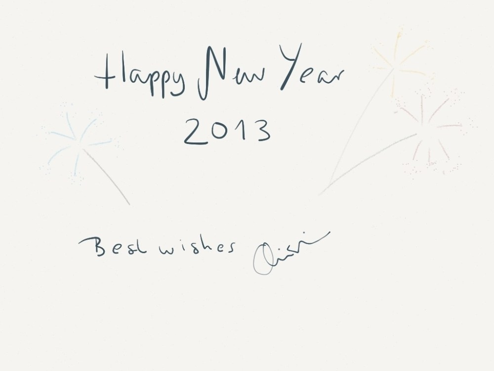 See you in 2013