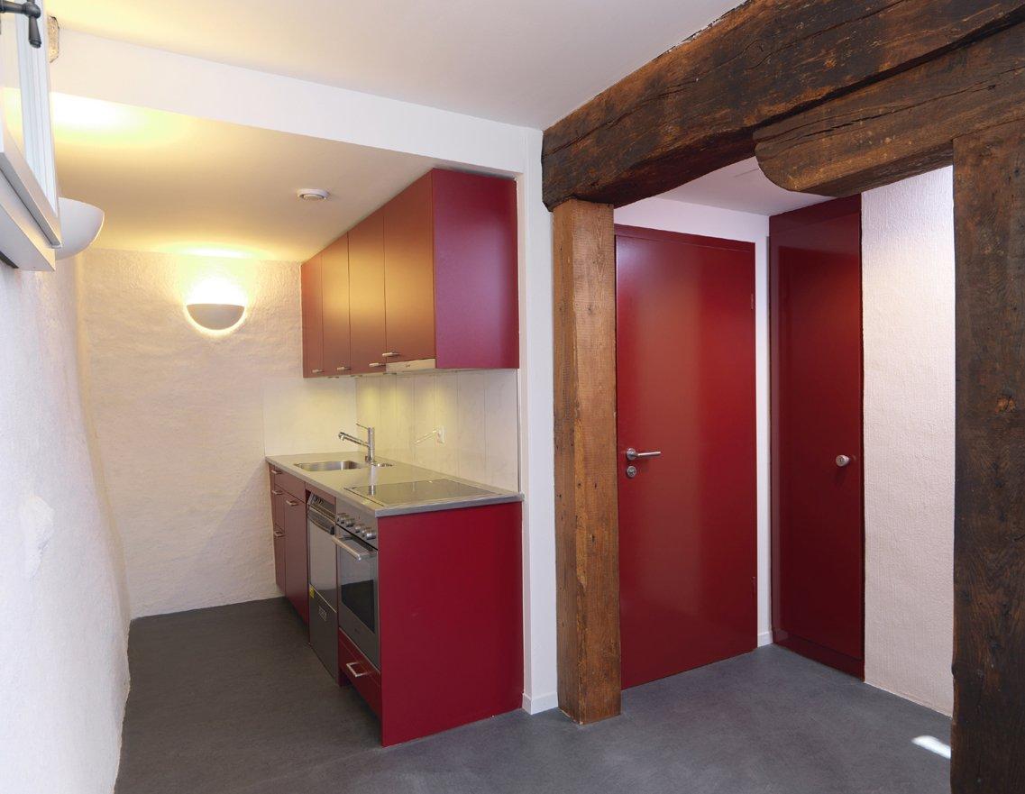 Küche Saal Pfarrhof 1