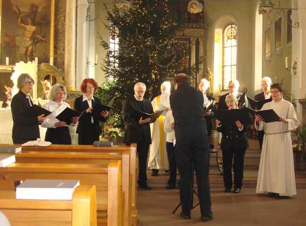 Chor der christkatholischen Kirchgemeinde Allschwil-Schönenbuch und Birsigtal