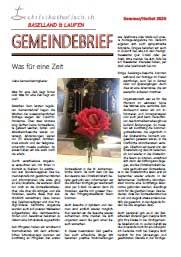 Gemeindebrief Baselland & Laufen Sommer/Herbst 2020
