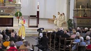 Blick in die gut besetzte Stadtkirche Olten am Muttertag 2019