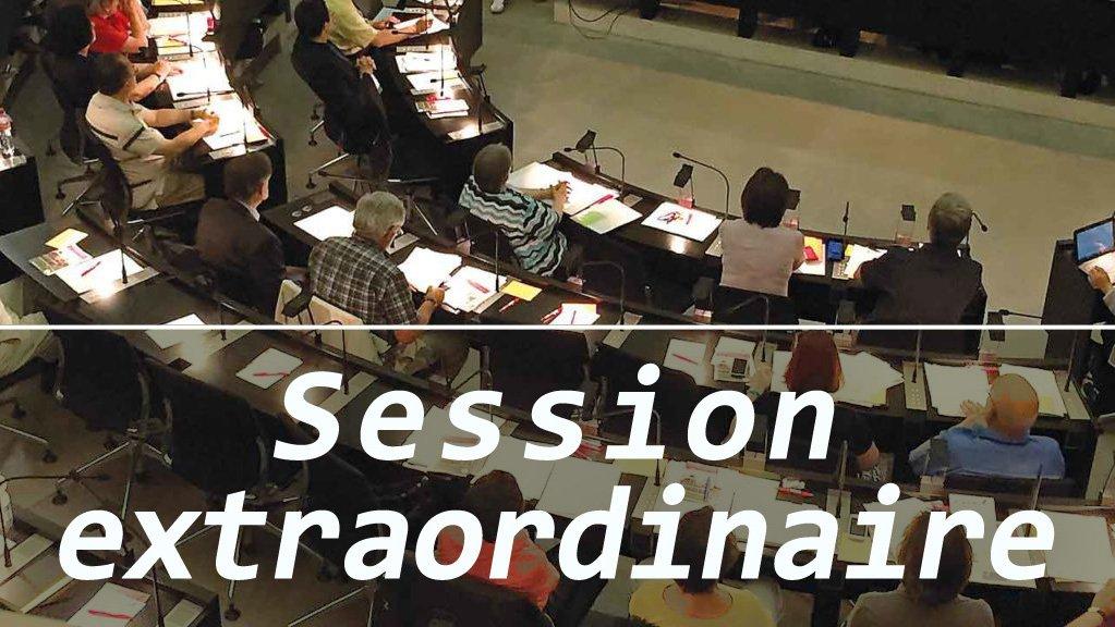 Session extraordinaire du Synode national en août 2020