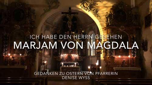 Videobotschaft von Pfarrerin Denise Wyss zu Ostern