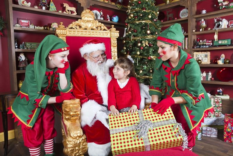 Christmas Celebration With Santa Christmas Celebration