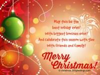 Christmas Card Wording.Christmas Greeting Card Wording Merry Christmas And Happy
