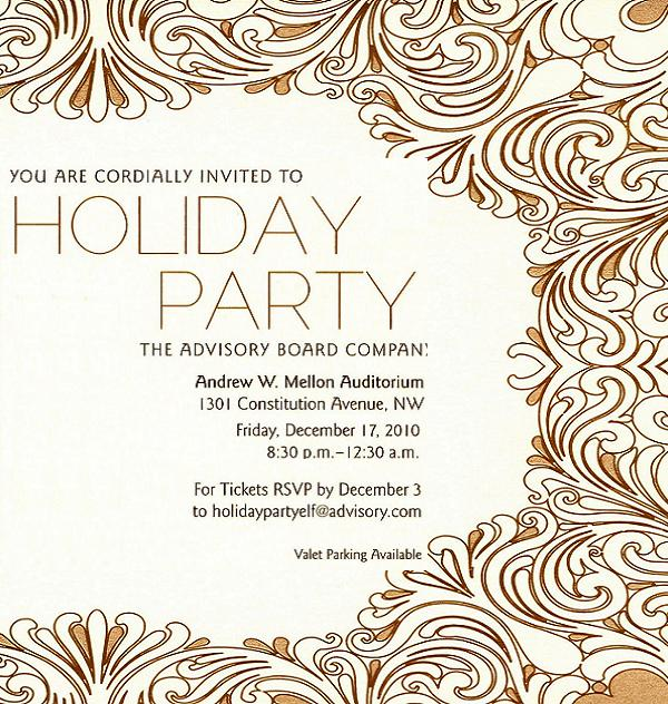 Office Christmas Party Invitation Wording – Office Holiday Party Invites