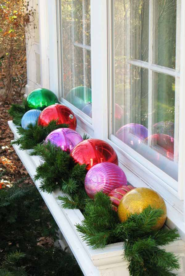 Shady Window Box Flower Ideas Outdoor Christmas Decorations