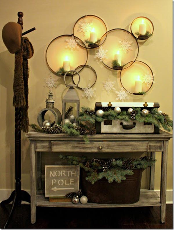 Christmas Wall Decorations Ideas To Deck Your Walls ... on Wall Decoration  id=31570