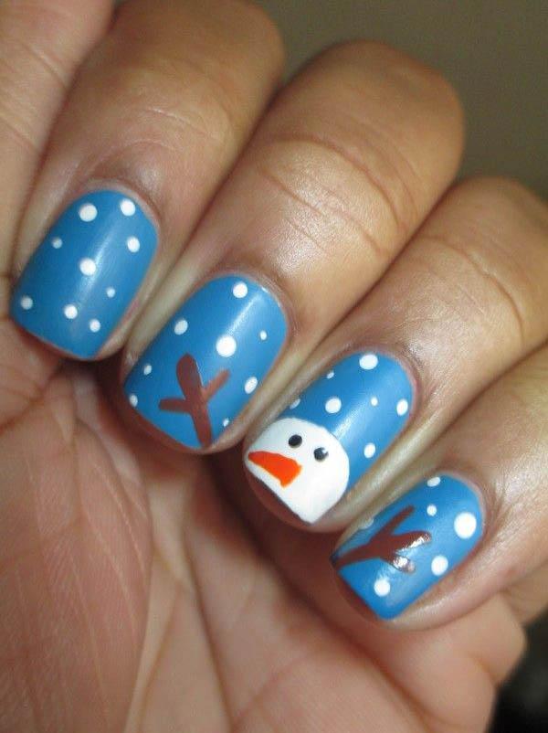 Christmas Acrylic Nail Designs Image Source