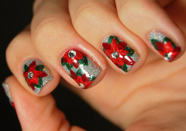Creative Acrylic Nails For Christmas 20 Amid Inspiration Article