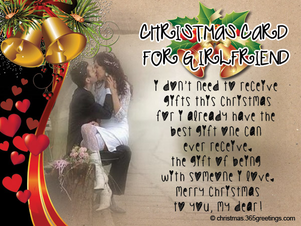 Christmas Messages For Girlfriend Christmas Celebration