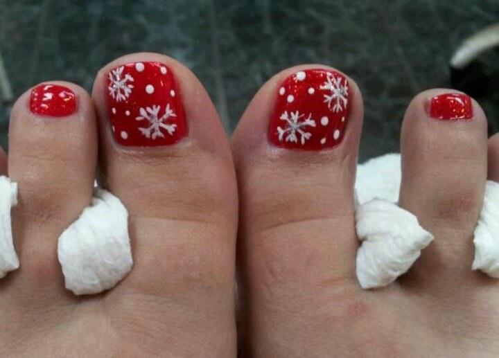 Christmas Toe Nail Designs 24 Art Source