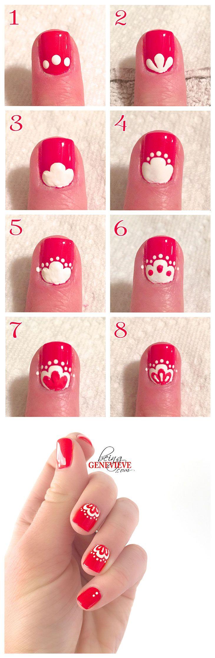 Cute Christmas Nail Art Designs 19 Source
