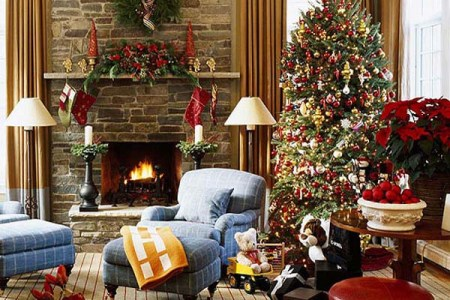 Christmas Living Room Decorating Ideas Christmas Living Room Decorations
